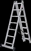 Алюминиевая трехсекционная лестница Новая Высота NV 123 3x7 1230307