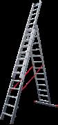 Алюминиевая трехсекционная лестница Новая Высота NV 523 3х13 5230313