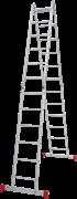Алюминиевая лестница трансформер Новая Высота NV 232 4х6 2320406