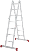 Алюминиевая лестница трансформер Новая Высота NV 232 2х3+2х4 2320234