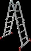 Алюминиевая лестница трансформер Новая Высота NV 2322 4х4 2322404