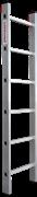 Алюминиевая приставная лестница Новая Высота NV 321 6 ступеней 3210106