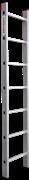 Алюминиевая приставная лестница Новая Высота NV 321 7 ступеней 3210107