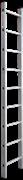 Алюминиевая приставная лестница Новая Высота NV 321 9 ступеней 3210109