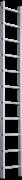 Алюминиевая приставная лестница Новая Высота NV 321 11 ступеней 3210111