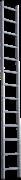 Алюминиевая приставная лестница Новая Высота NV 321 13 ступеней 3210113