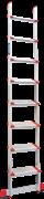 Алюминиевая приставная лестница Новая Высота NV 517 8 ступеней 5170108