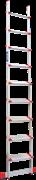 Алюминиевая приставная лестница Новая Высота NV 517 9 ступеней 5170109