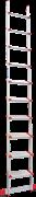 Алюминиевая приставная лестница Новая Высота NV 517 10 ступеней 5170110
