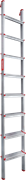 Алюминиевая приставная лестница Новая Высота NV 317 8 ступеней 3170108