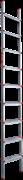 Алюминиевая приставная лестница Новая Высота NV 317 9 ступеней 3170109