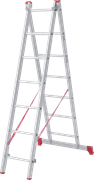 Алюминиевая двухсекционная лестница Новая Высота NV 222 2х7 2220207