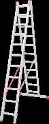 Алюминиевая двухсекционная лестница Новая Высота NV 222 2х11 2220211