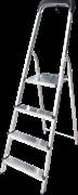 Алюминиевая стремянка Новая Высота NV1115 4 ступени 1115104