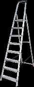 Алюминиевая стремянка Новая Высота NV1115 8 ступеней 1115108