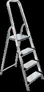 Алюминиевая стремянка Новая Высота NV1117 4 ступени 1117104