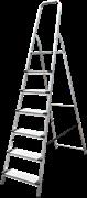Алюминиевая стремянка Новая Высота NV1117 7 ступеней 1117107