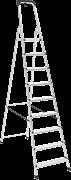 Алюминиевая стремянка Новая Высота NV2115 9 ступеней 2115109