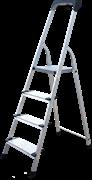Алюминиевая стремянка Новая Высота NV2118 4 ступени 2118104