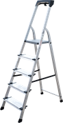 Алюминиевая стремянка Новая Высота NV2118 5 ступеней 2118105