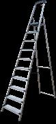 Алюминиевая стремянка Новая Высота NV2118 10 ступеней 2118110