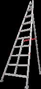 Алюминиевая садовая стремянка Новая Высота NV 319 10 ступеней 3190110
