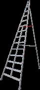 Алюминиевая садовая стремянка Новая Высота NV 319 14 ступеней 3190114