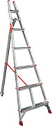 Алюминиевая садовая стремянка Новая Высота NV 3191 6 ступеней 3191106