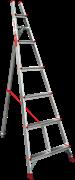 Алюминиевая садовая стремянка Новая Высота NV 3191 10 ступеней 3191110