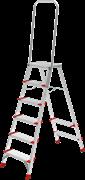 Алюминиевая стремянка Новая Высота NV 5136 6 ступеней 5136106