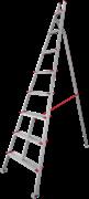Алюминиевая садовая стремянка Новая Высота NV 519 8 ступеней 5190108
