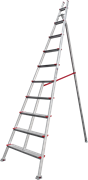 Алюминиевая садовая стремянка Новая Высота NV 519 10 ступеней 5190110