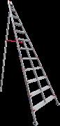 Алюминиевая садовая стремянка Новая Высота NV 519 12 ступеней 5190112