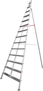 Алюминиевая садовая стремянка Новая Высота NV 519 14 ступеней 5190114