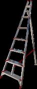 Алюминиевая садовая стремянка Новая Высота NV5191 8 ступеней 5191108