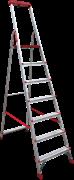Алюминиевая стремянка Новая Высота NV 3150 7 ступеней 3150107