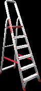 Алюминиевая стремянка Новая Высота NV 311 6 ступеней 3110106