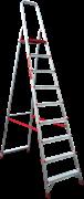Алюминиевая стремянка Новая Высота NV 311 9 ступеней 3110109