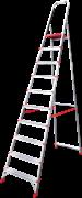 Алюминиевая стремянка Новая Высота NV 311 10 ступеней 3110110