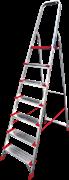 Алюминиевая стремянка Новая Высота NV 511 7 ступеней 5110107