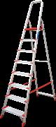 Алюминиевая стремянка Новая Высота NV 511 8 ступеней 5110108