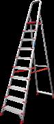 Алюминиевая стремянка Новая Высота NV 511 10 ступеней 5110110