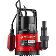 Погружной дренажный насос Зубр Мастер для чистой воды НПЧ-М1-250