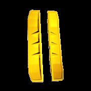 Комплект расширительных пластин 125мм для виброплит Belle RPC 45/60 и RPC 60/80