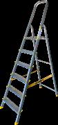 Анодированная стремянка Алюмет 6 ступеней APA7006