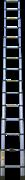 Алюминиевая телескопическая лестница Алюмет 4,4 м 15 ступеней TLS4.4