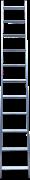Алюминиевая приставная лестница Алюмет Comfort 17 ступеней НК1 5117