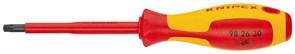 Диэлектрическая отвертка KNIPEX TX10 60мм KN-982610