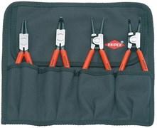 Набор щипцов для стопорных колец 4 предмета KNIPEX KN-001956