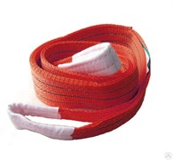 Текстильный петлевой строп Грузовая механика СТП-1,0т 1,0м (30ммх3/ЗП6)